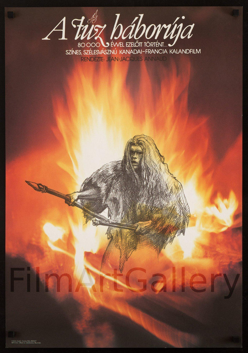 Quest for Fire 22x32 Original Vintage Movie Poster