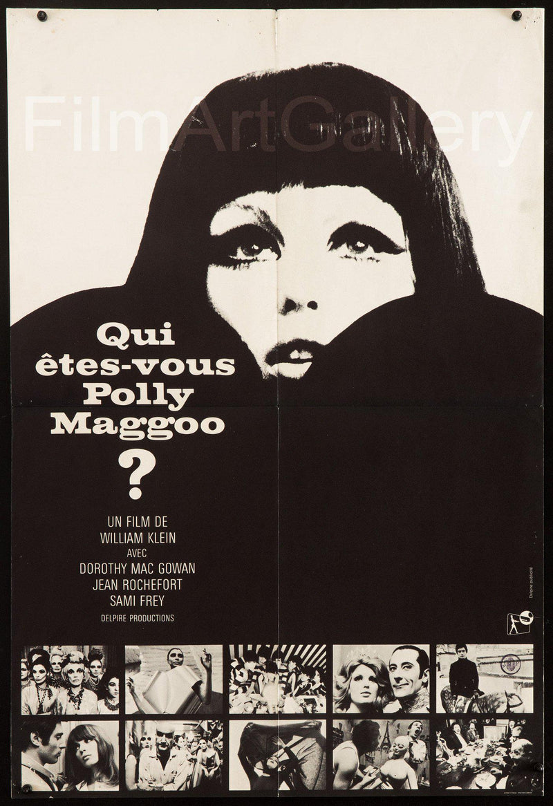 Qui Etes-Vous Polly Maggoo? French Small (23x32) Original Vintage Movie Poster