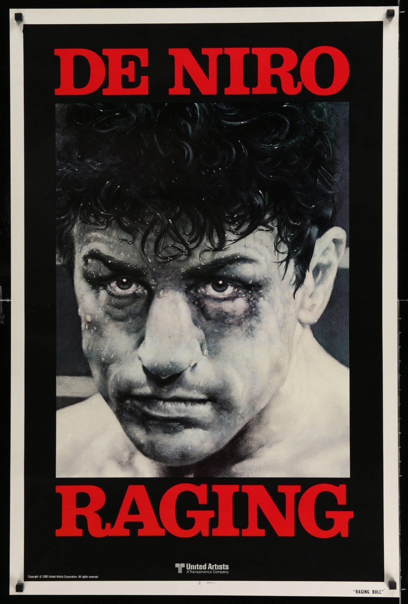 Raging Bull 1 Sheet (27x41) Original Vintage Movie Poster