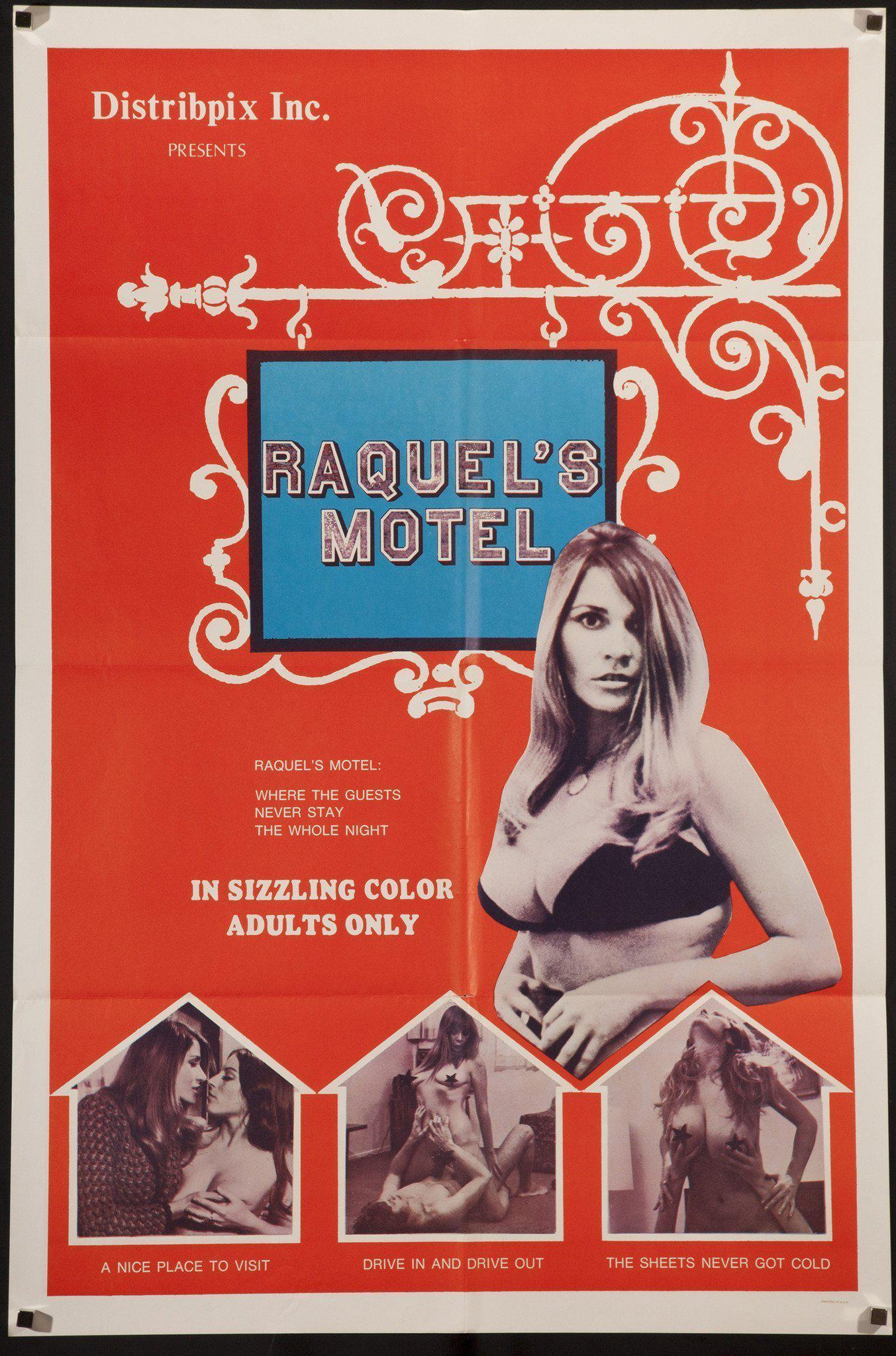 Raquel's Motel 1 Sheet (27x41) Original Vintage Movie Poster
