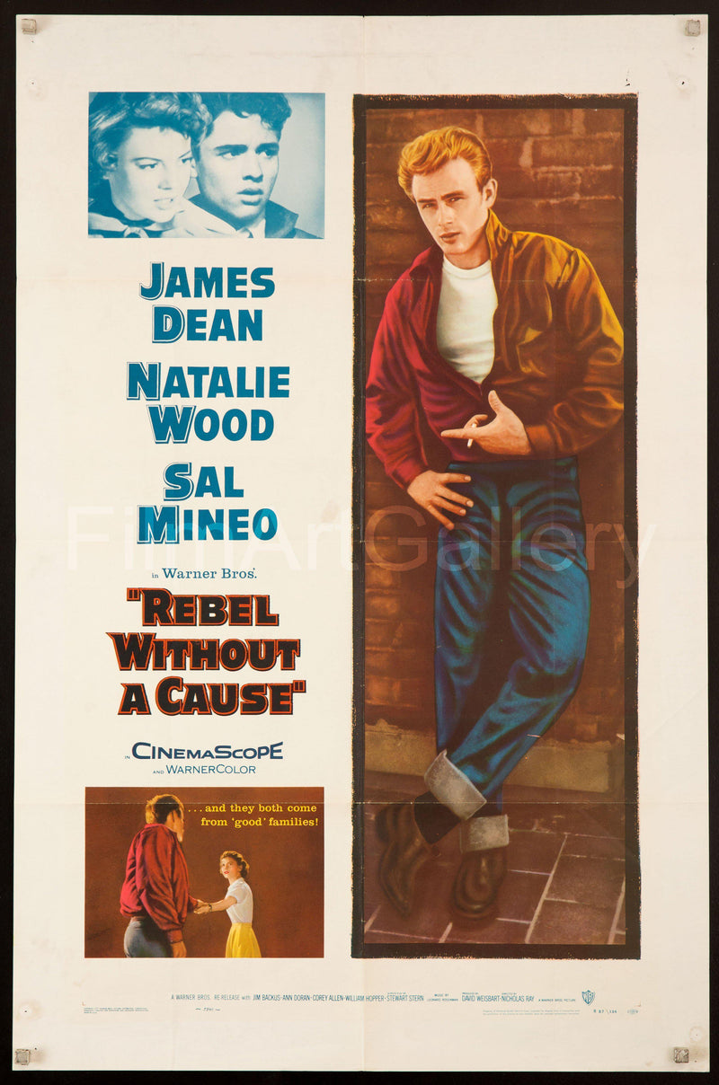 Rebel without a cause James Dean movie poster #6