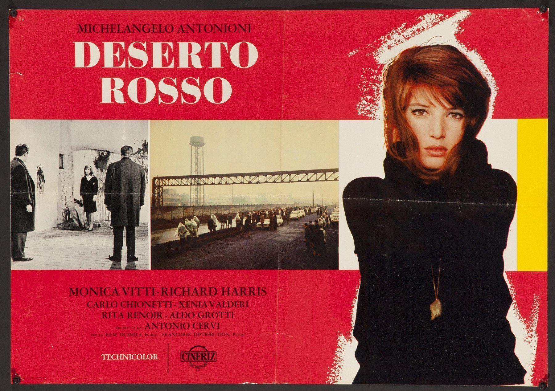 Red Desert (Deserto Rosso) Italian Photobusta (18x26) Original Vintage Movie Poster