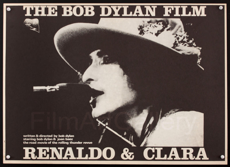 Renaldo And Clara Belgian (14x22) Original Vintage Movie Poster