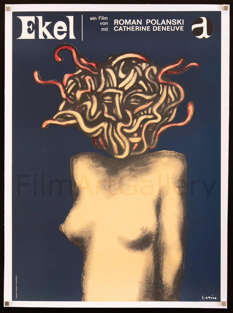 Repulsion German A1 (23x33) Original Vintage Movie Poster