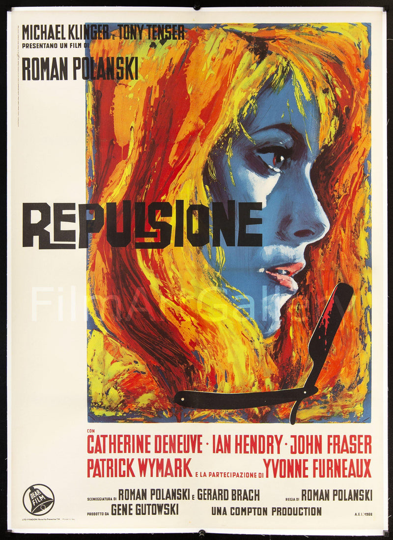 Repulsion Italian 2 foglio (39x55) Original Vintage Movie Poster