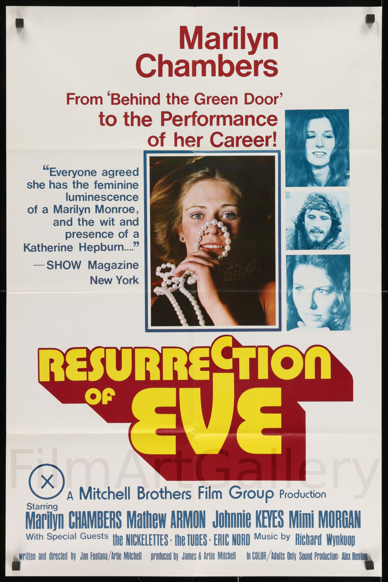 Resurrection Of Eve 1 Sheet (27x41) Original Vintage Movie Poster