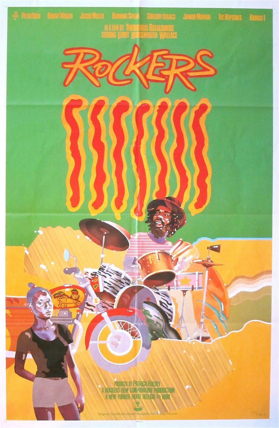 Rockers 1 Sheet (27x41) Original Vintage Movie Poster