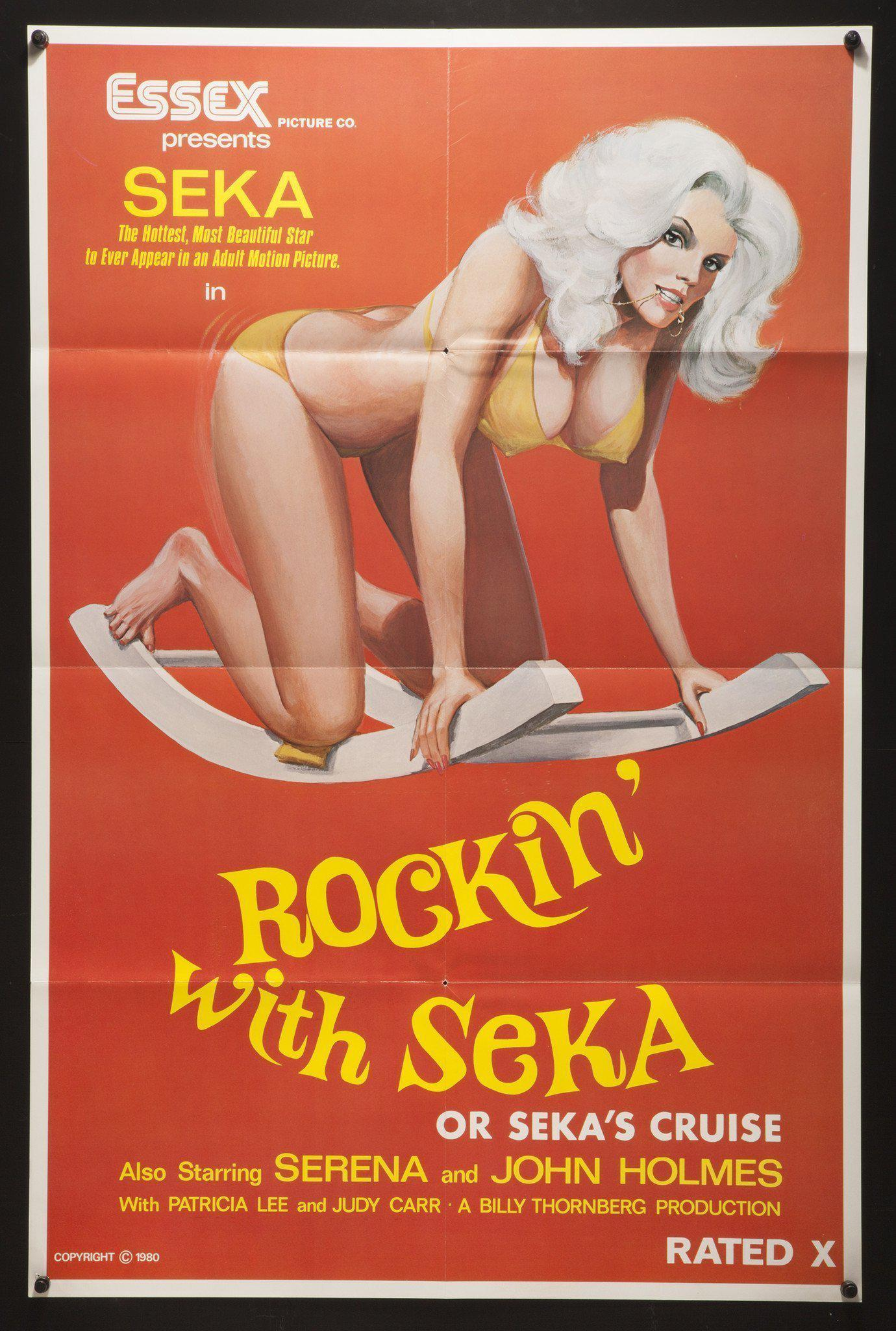 Rockin With Seka (or Seka's Cruise) 1 Sheet (27x41) Original Vintage Movie Poster