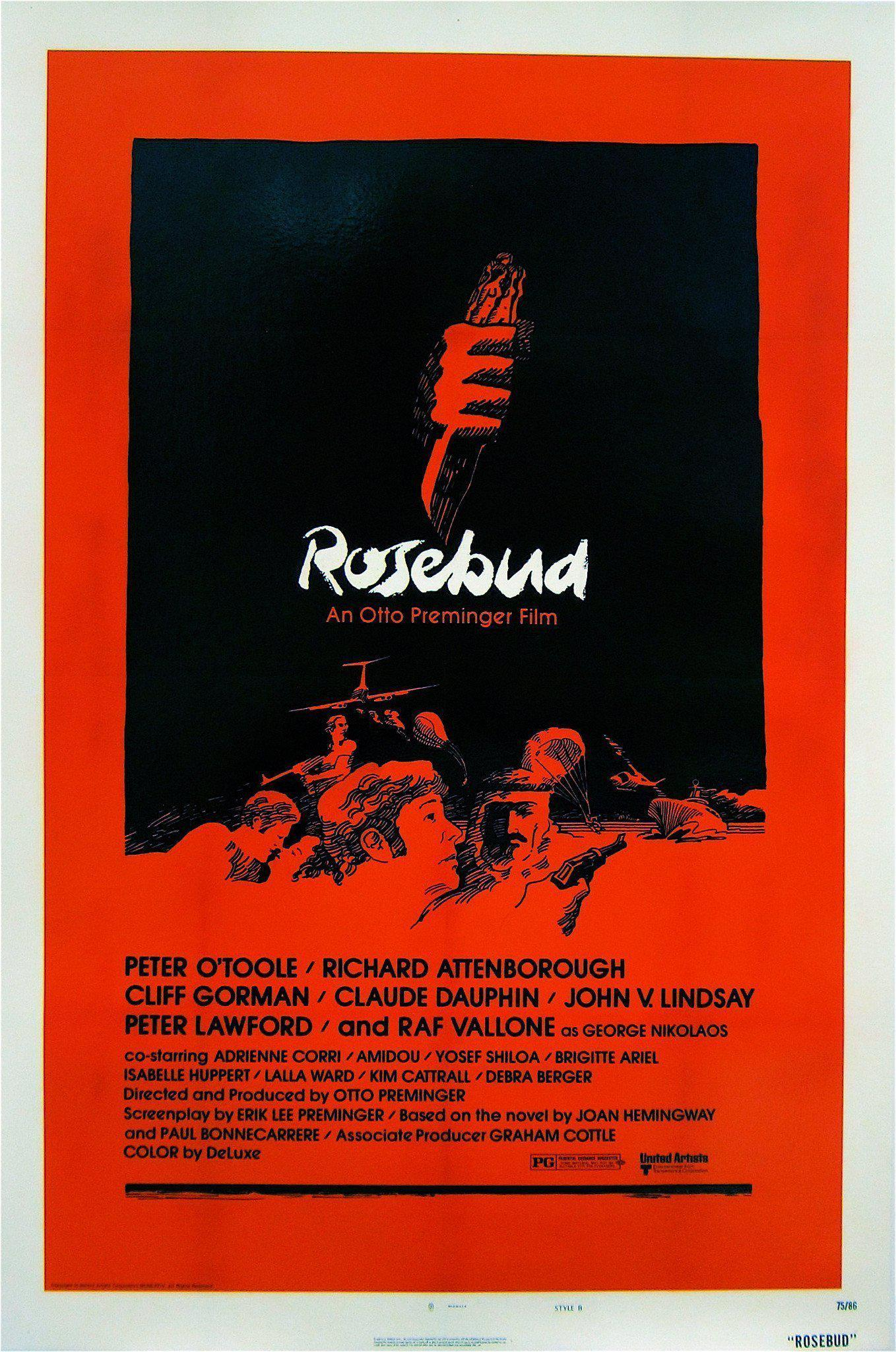 Rosebud 1 Sheet (27x41) Original Vintage Movie Poster