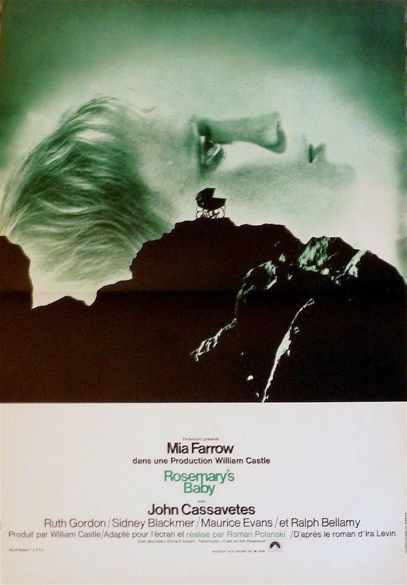 Rosemary's Baby French mini (16x23) Original Vintage Movie Poster