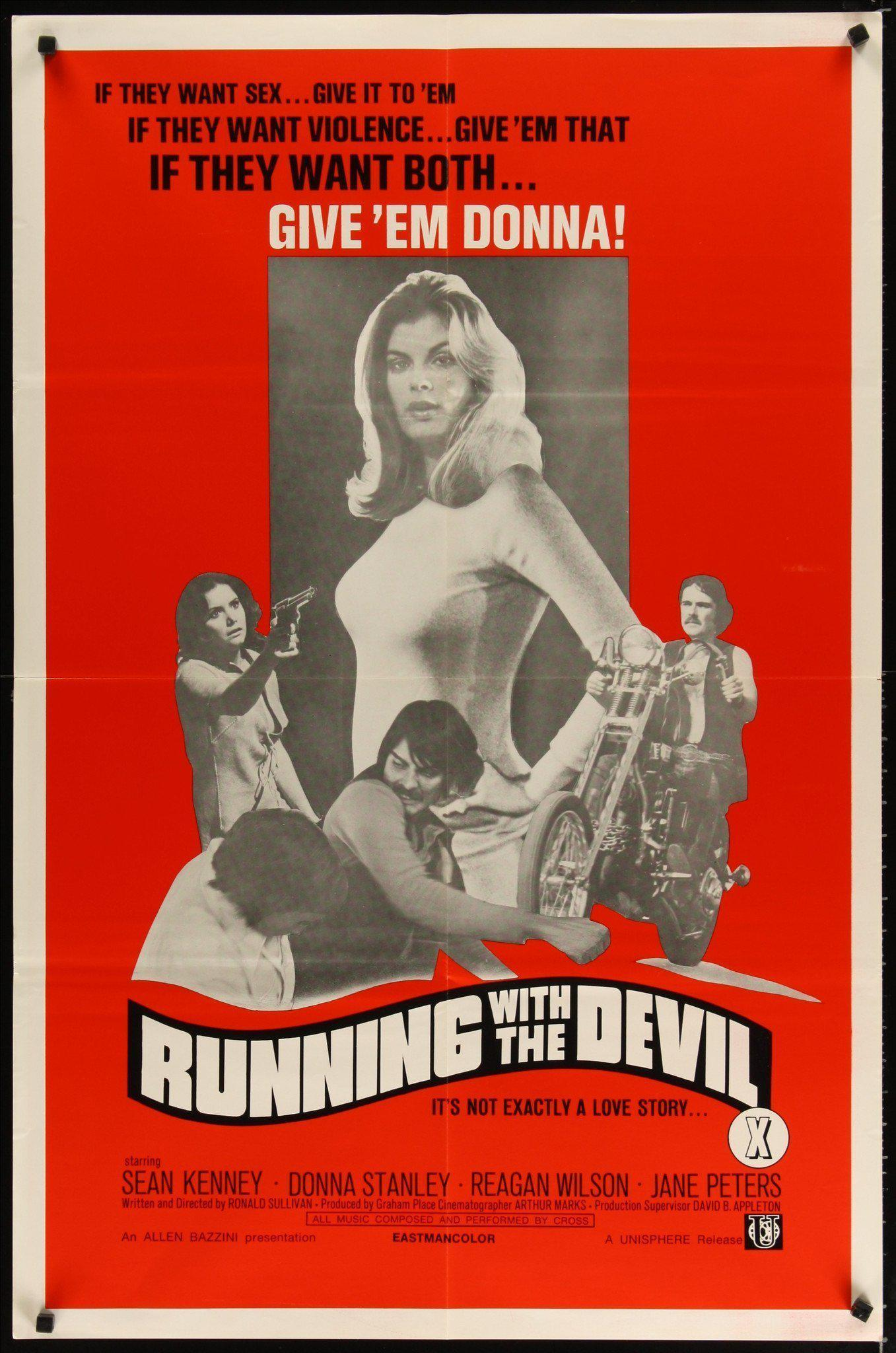 Running with the Devil 1 Sheet (27x41) Original Vintage Movie Poster
