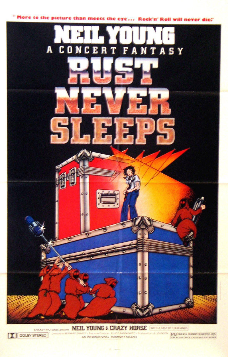 Rust Never Sleeps 1 Sheet (27x41) Original Vintage Movie Poster