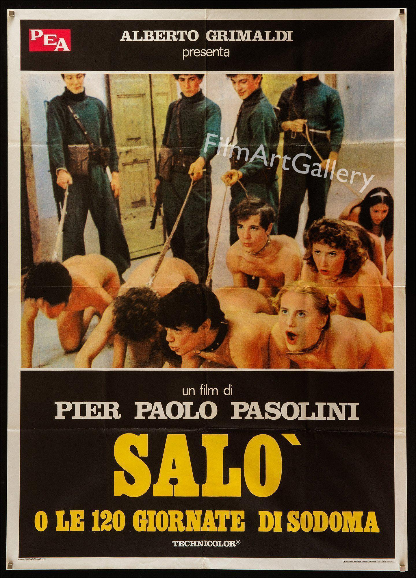 Salo Italian 2 foglio (39x55) Original Vintage Movie Poster