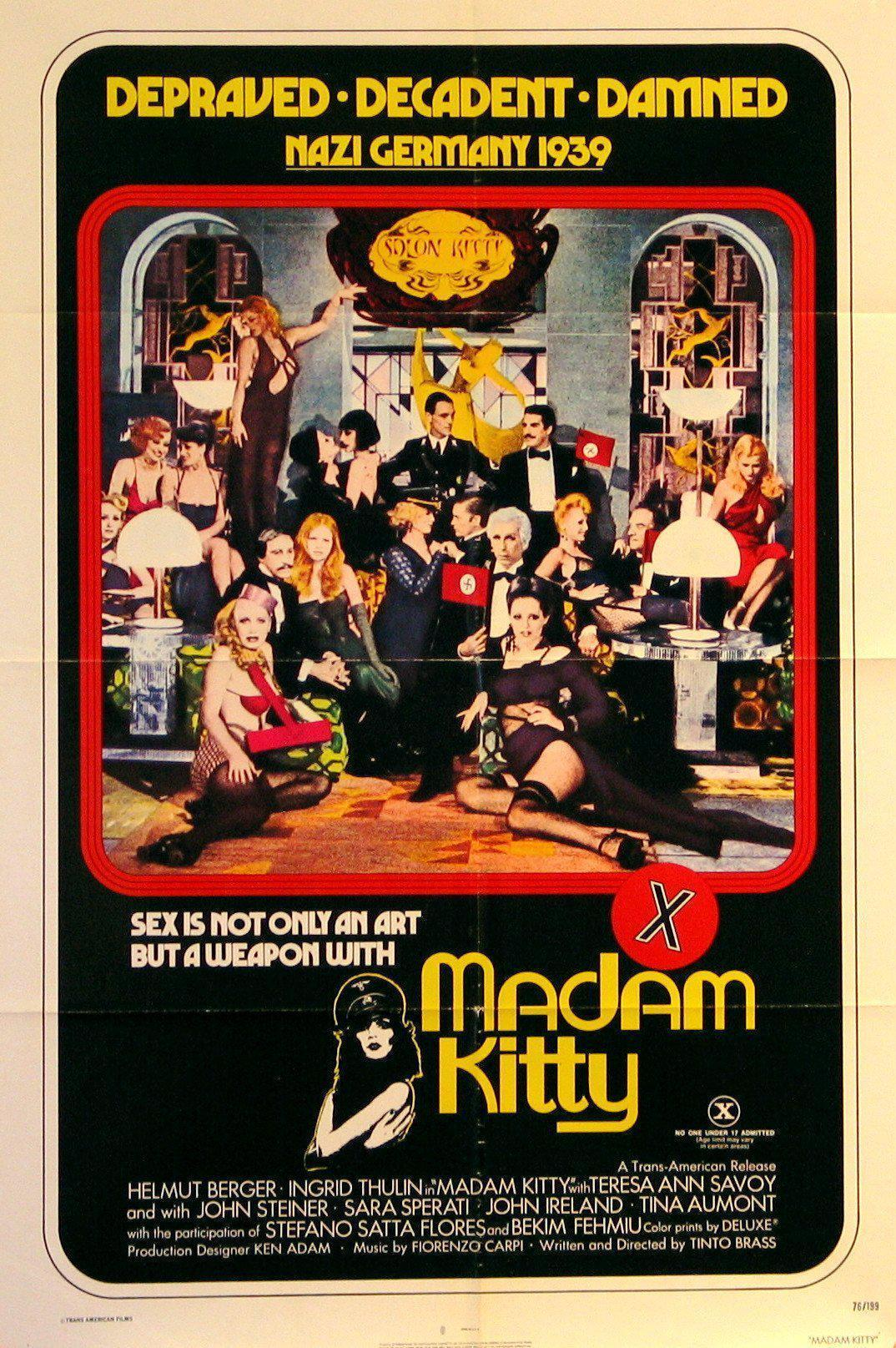 Salon Kitty 1 Sheet (27x41) Original Vintage Movie Poster