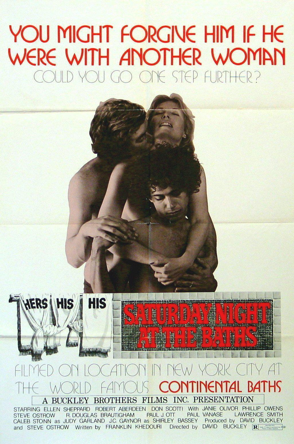 Saturday Night at the Baths 1 Sheet (27x41) Original Vintage Movie Poster