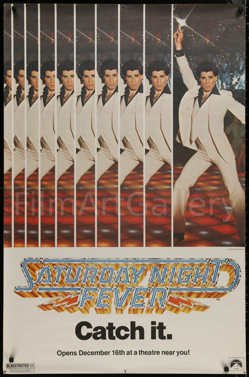 Saturday Night Fever Subway 1 Sheet (29x45) Original Vintage Movie Poster