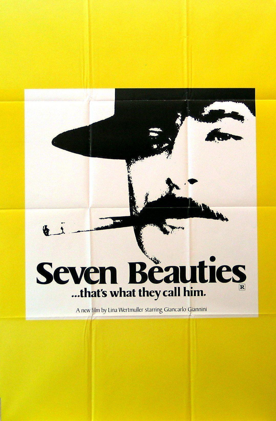 Seven Beauties 1 Sheet (27x41) Original Vintage Movie Poster