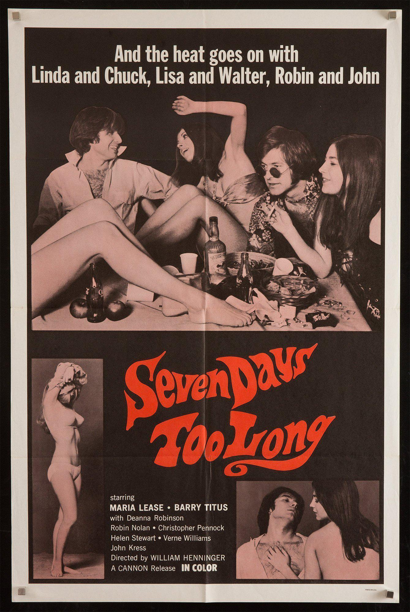 Seven Days Too Long 1 Sheet (27x41) Original Vintage Movie Poster