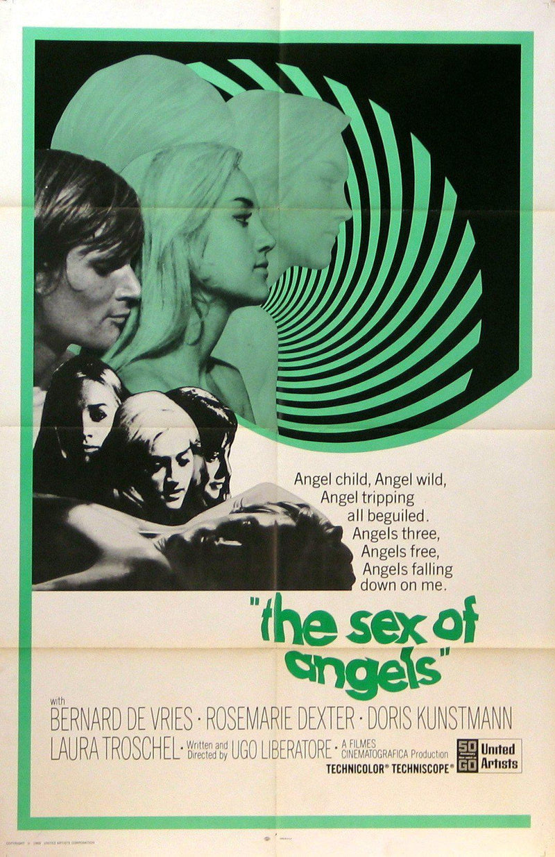 Sex of Angels 1 Sheet (27x41) Original Vintage Movie Poster
