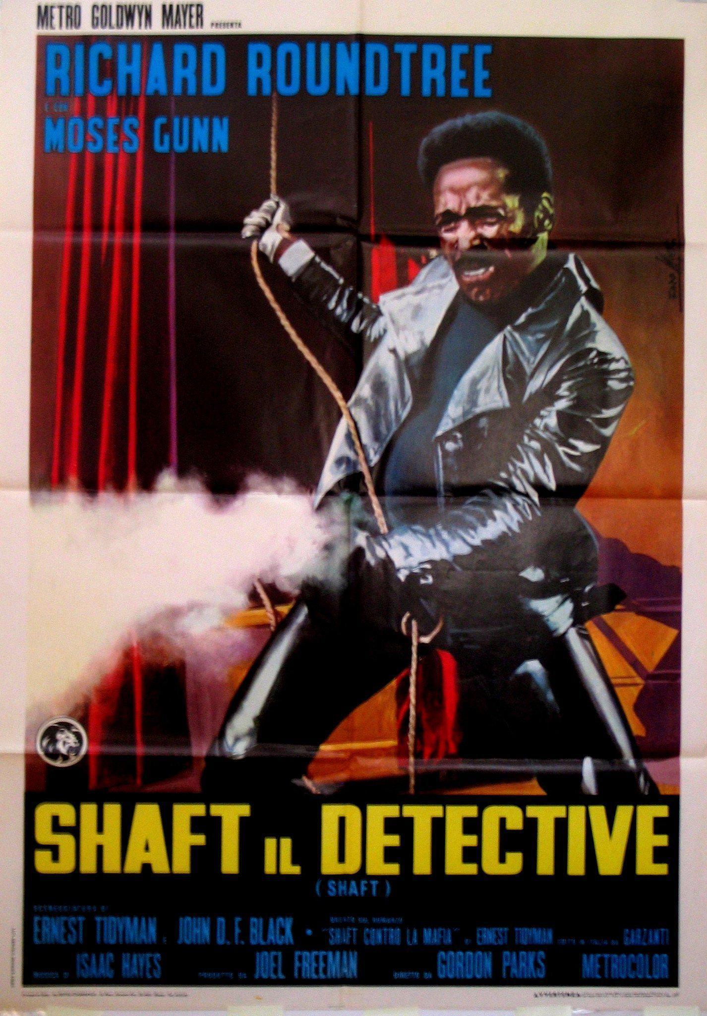 Shaft Italian 2 foglio (39x55) Original Vintage Movie Poster