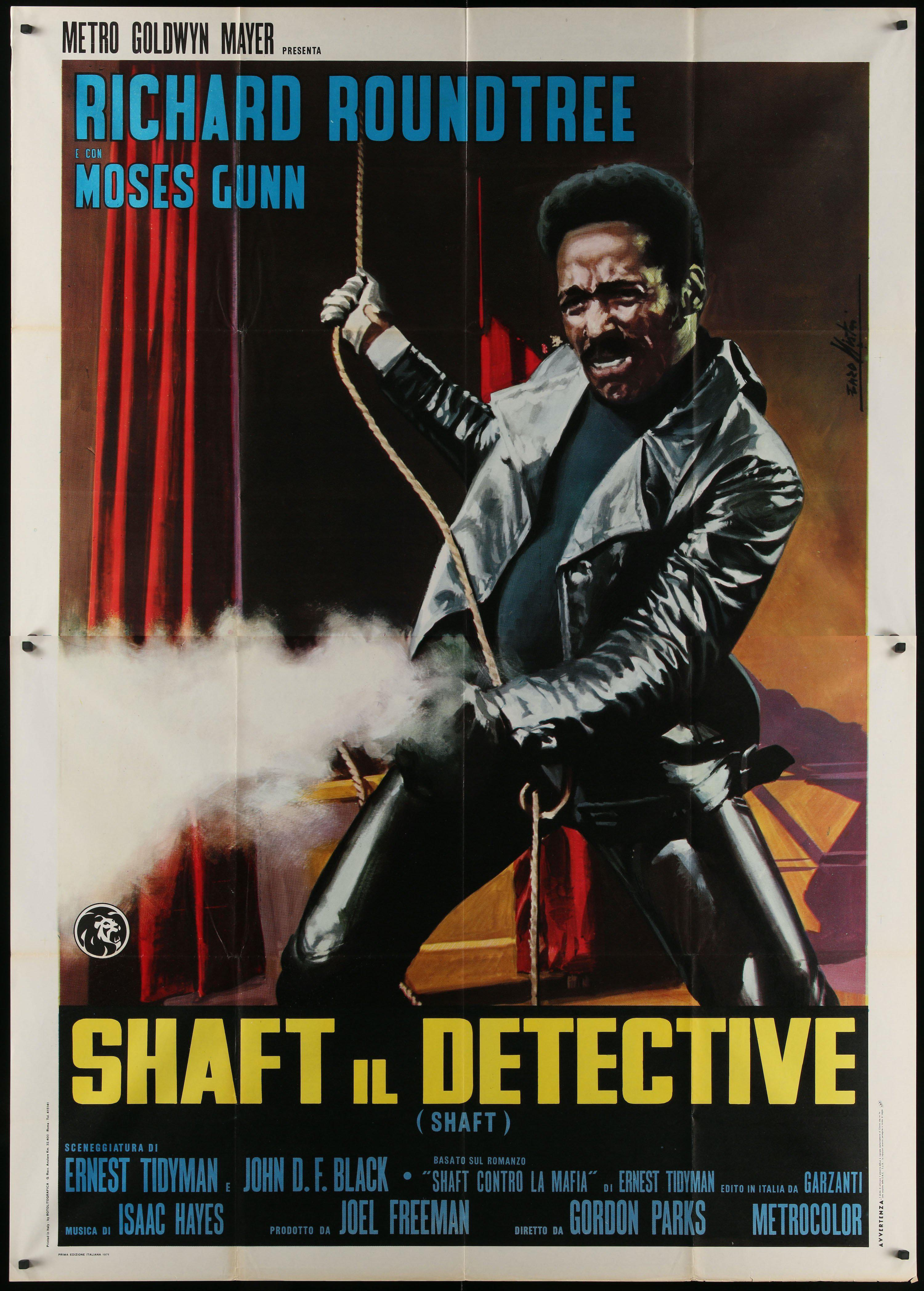 Shaft Italian 4 foglio (55x78) Original Vintage Movie Poster