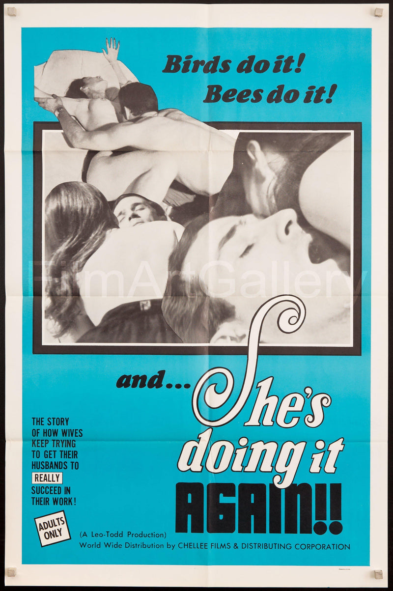 She's Doing It Again 1 Sheet (27x41) Original Vintage Movie Poster