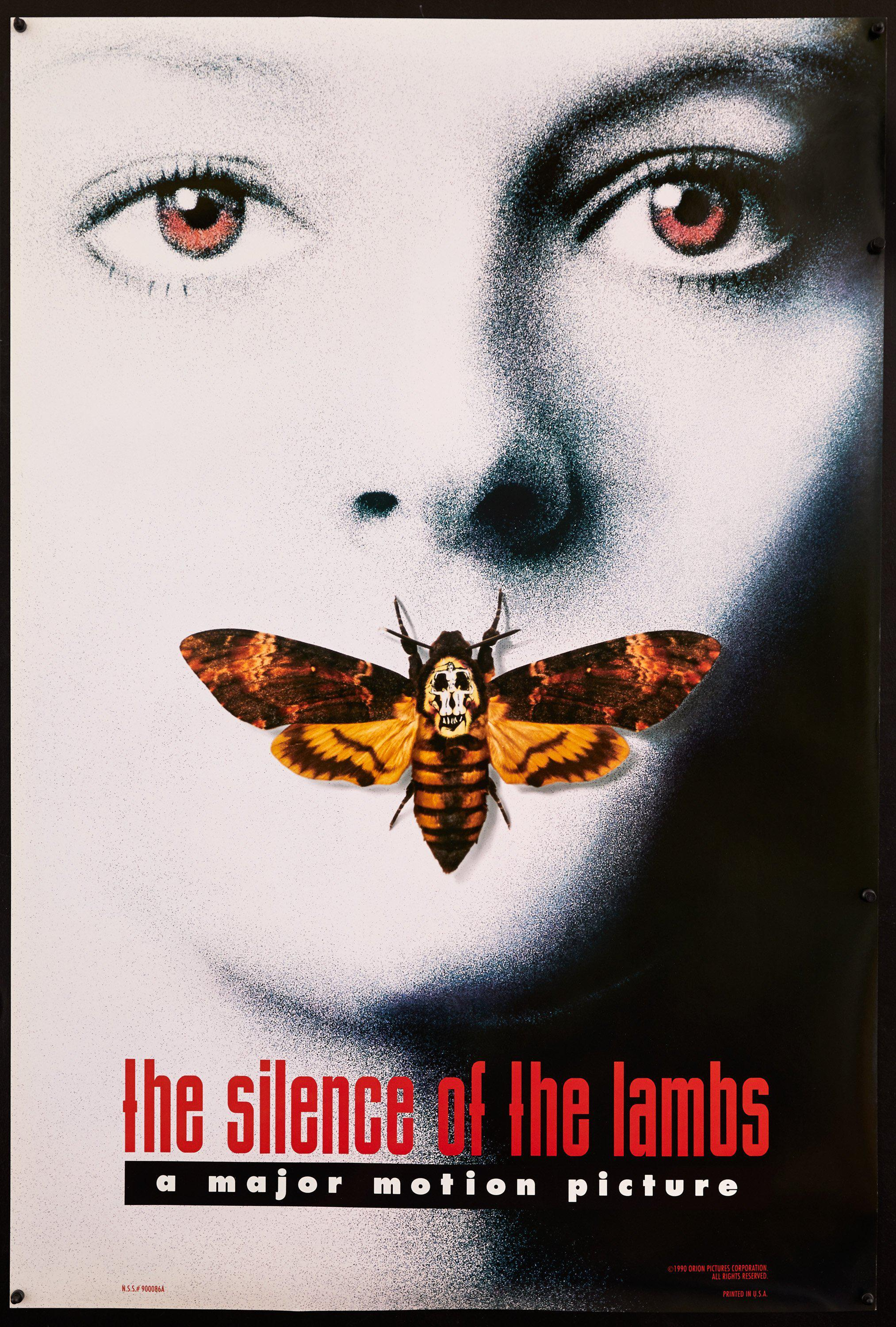 Silence of the Lambs 1 Sheet (27x41) Original Vintage Movie Poster