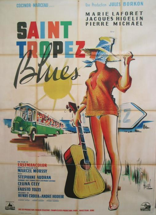 St. Tropez Blues French 1 panel (47x63) Original Vintage Movie Poster