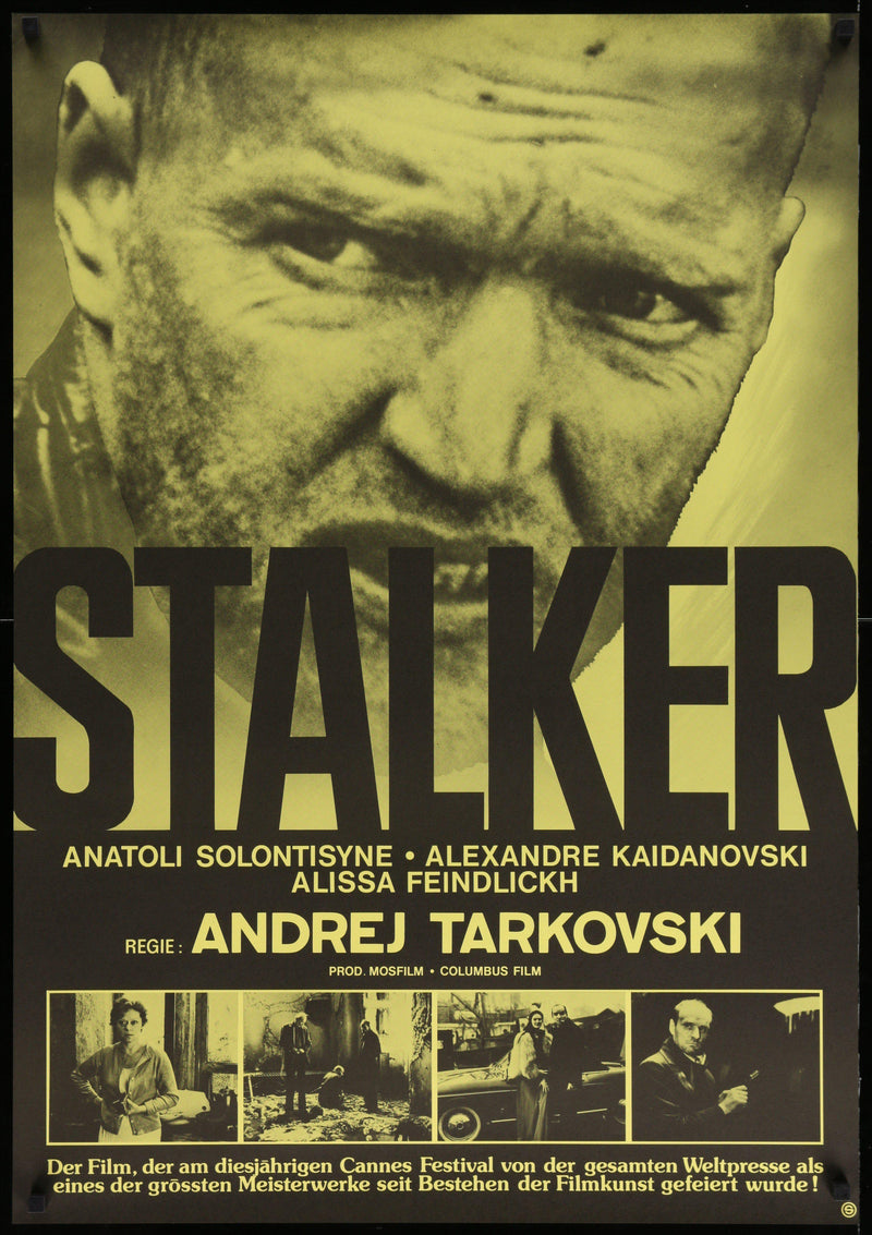 Stalker 1 Sheet (27x41) Original Vintage Movie Poster