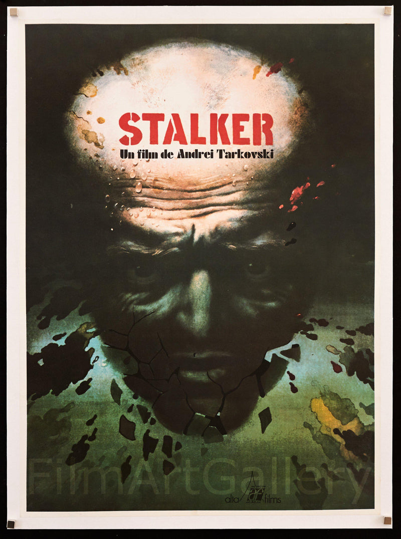 Stalker 23x32 Original Vintage Movie Poster