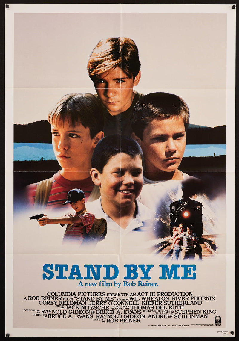 Stand By Me 1 Sheet (27x41) Original Vintage Movie Poster