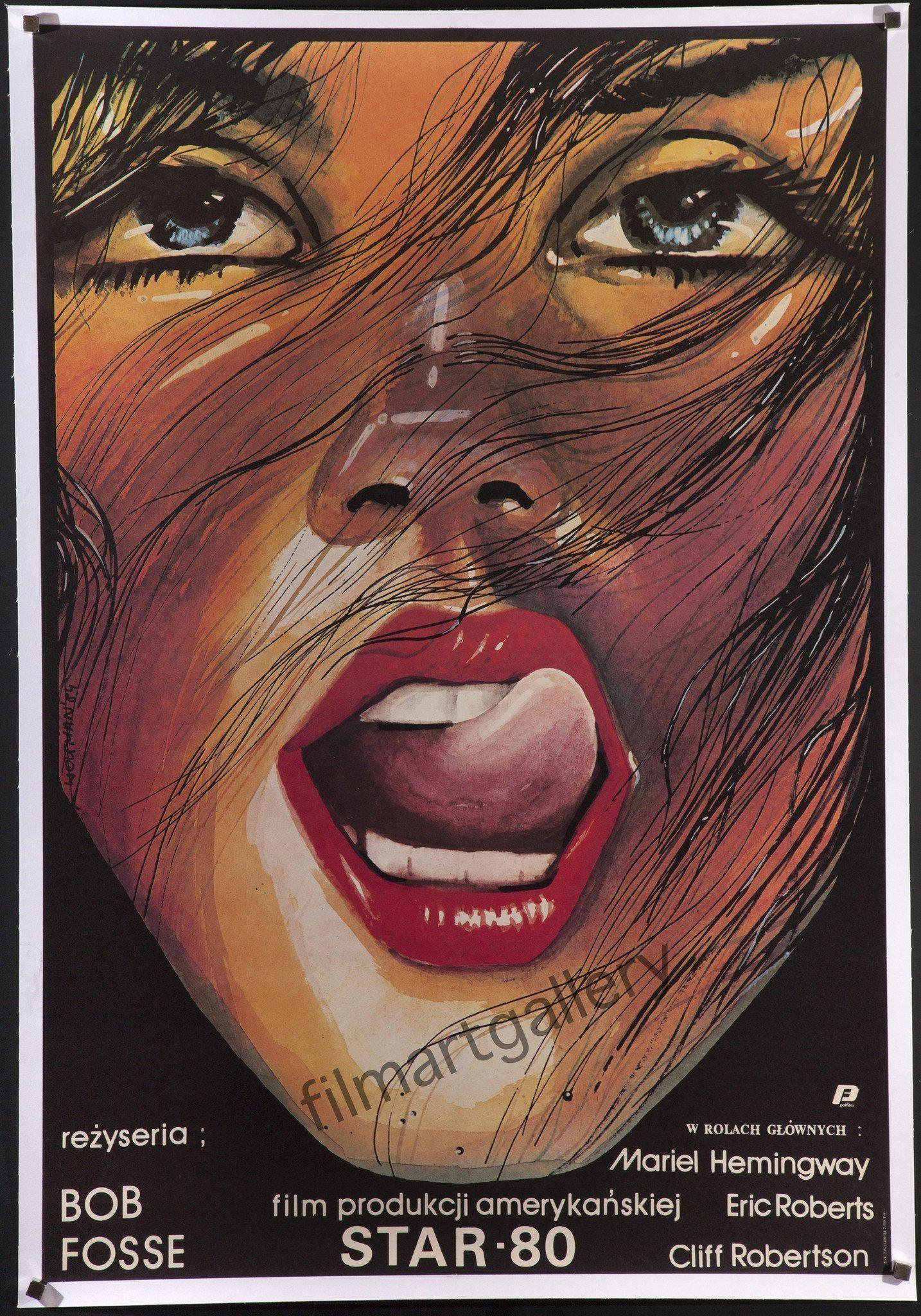 Star 80 Polish B1 (26x38) Original Vintage Movie Poster
