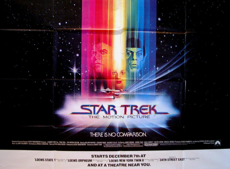 Star Trek Subway 2 sheet (45x59) Original Vintage Movie Poster