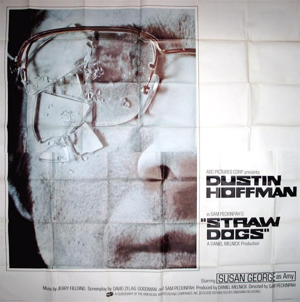 Straw Dogs 6 Sheet (81x81) Original Vintage Movie Poster