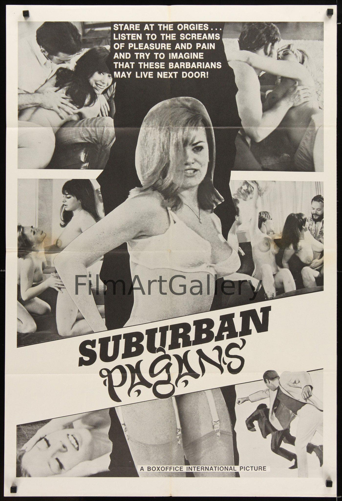 Suburban Pagans 1 Sheet (27x41) Original Vintage Movie Poster