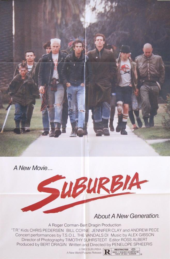 Suburbia 1 Sheet (27x41) Original Vintage Movie Poster