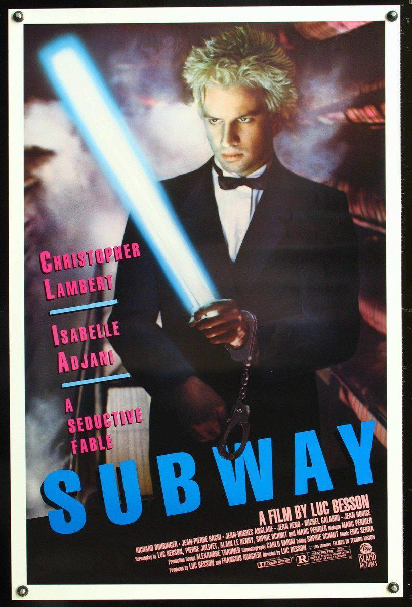 Subway 1 Sheet (27x41) Original Vintage Movie Poster