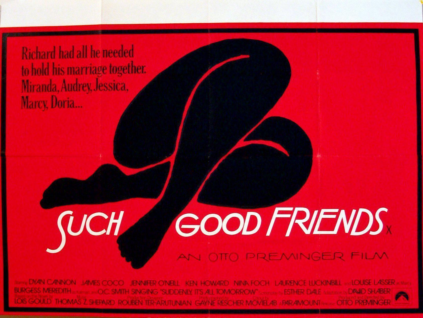 Such Good Friends British Quad (30x40) Original Vintage Movie Poster