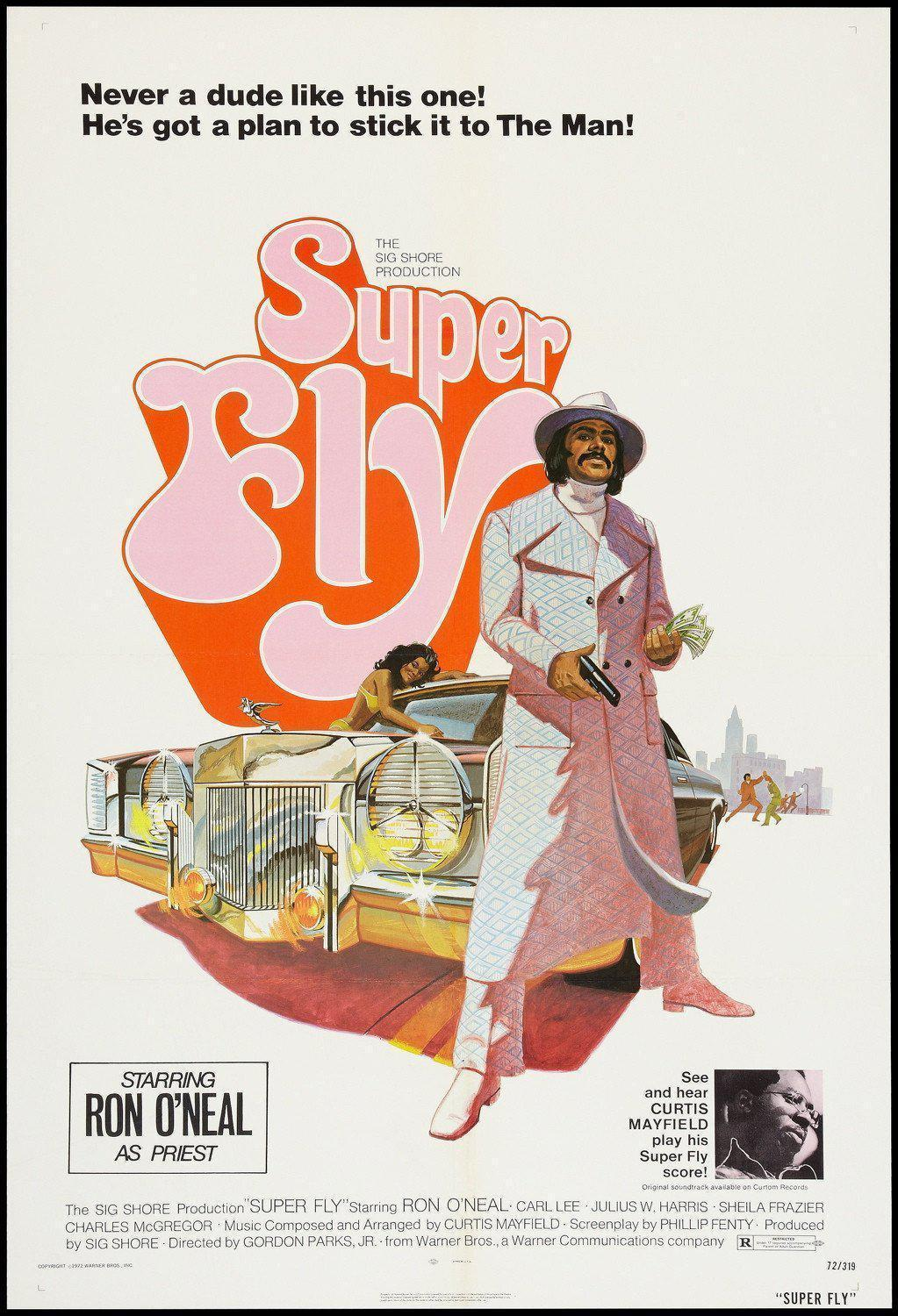 Superfly (Super Fly) 1 Sheet (27x41) Original Vintage Movie Poster