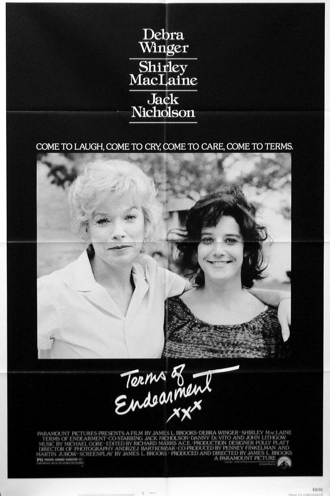 Terms of Endearment 1 Sheet (27x41) Original Vintage Movie Poster