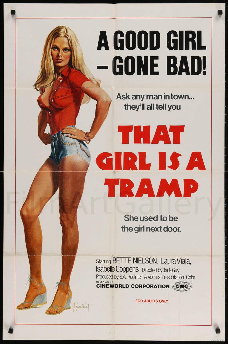 That Girl Is A Tramp 1 Sheet (27x41) Original Vintage Movie Poster