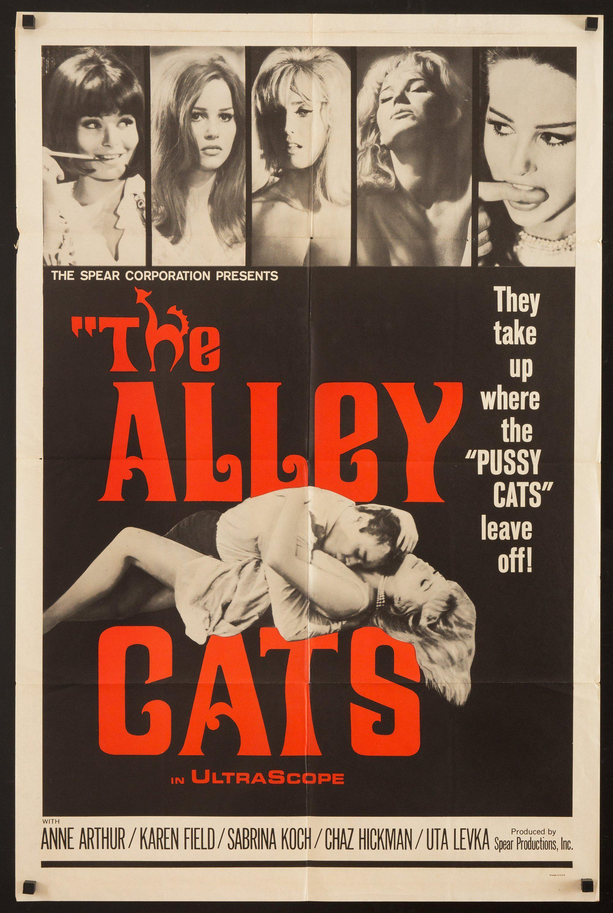 The Alley Cats 1 Sheet (27x41) Original Vintage Movie Poster