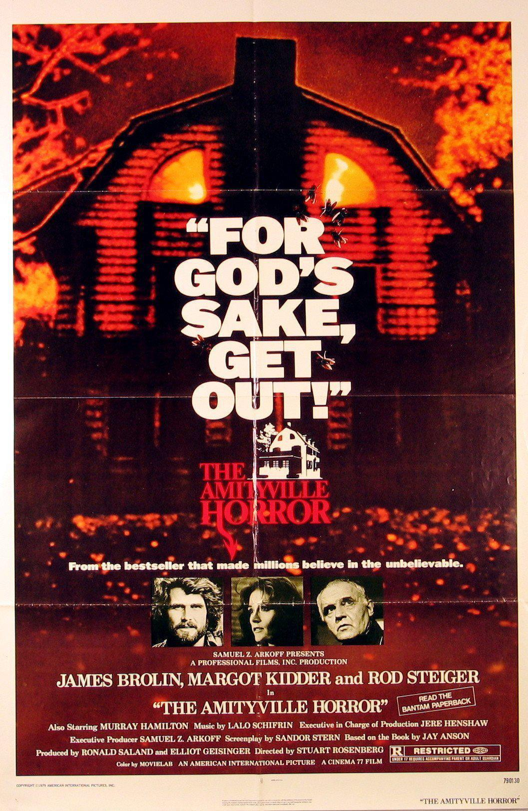 The Amityville Horror 1 Sheet (27x41) Original Vintage Movie Poster
