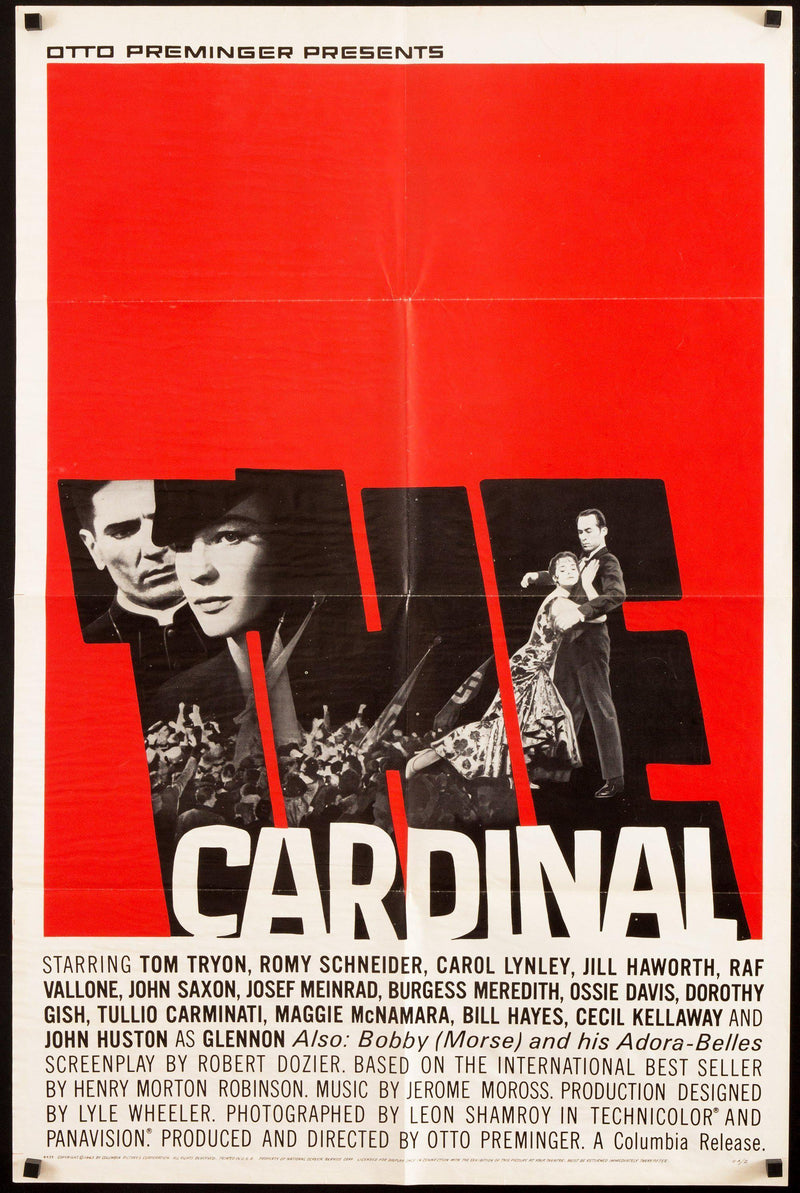 The Cardinal 1 Sheet (27x41) Original Vintage Movie Poster