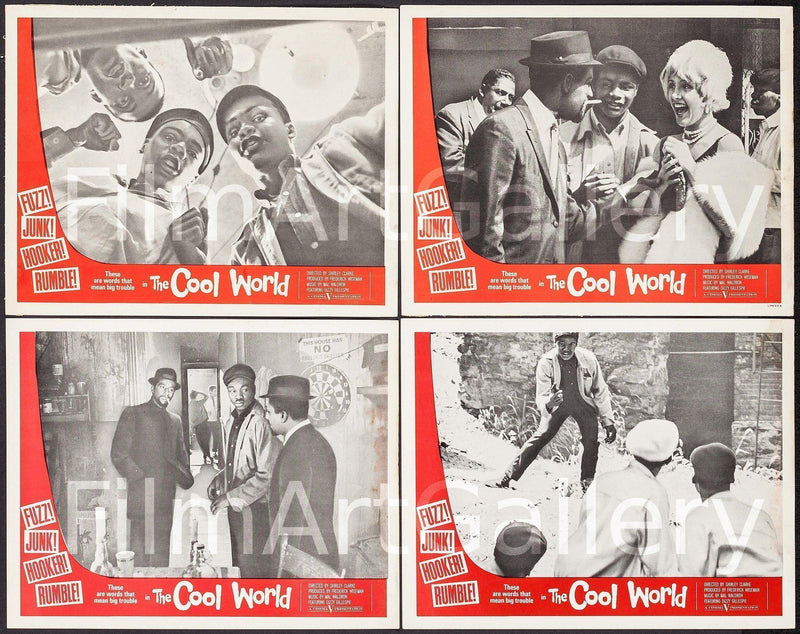 The Cool World Lobby Card Set Original Vintage Movie Poster