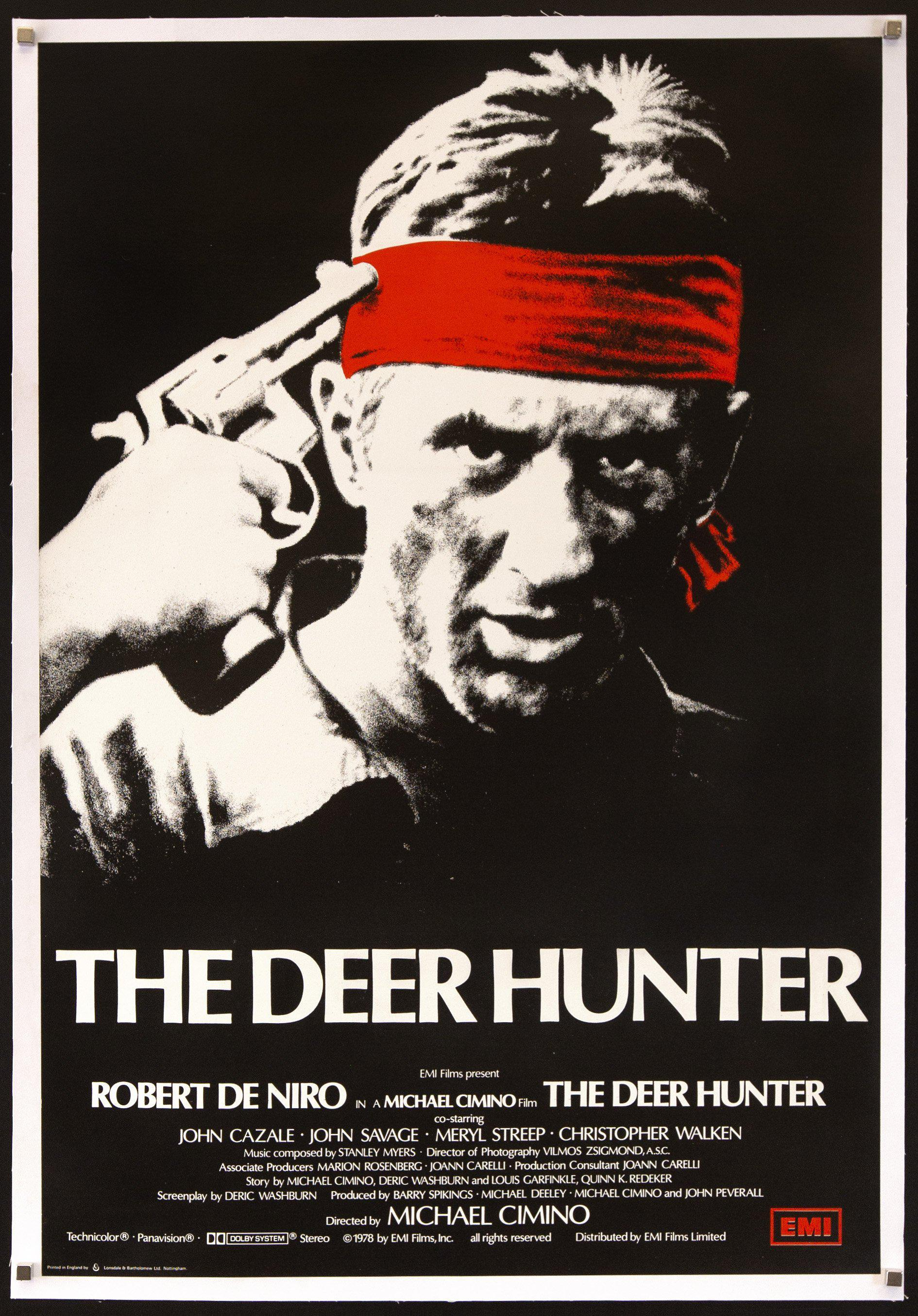 The Deer Hunter 1 Sheet (27x41) Original Vintage Movie Poster