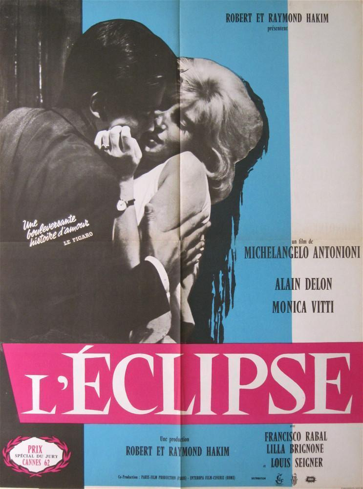 The Eclipse (L'Eclisse) French small (23x32) Original Vintage Movie Poster