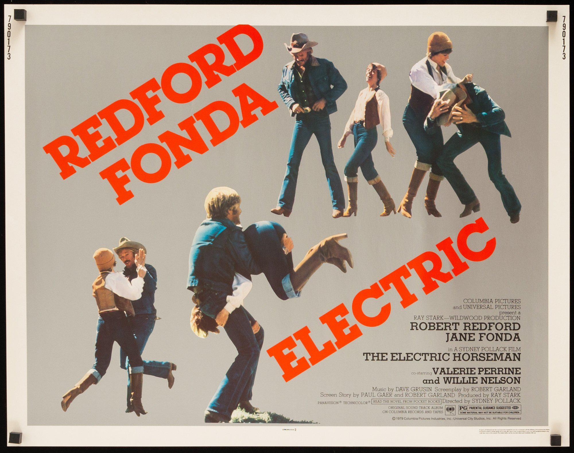 The Electric Horseman Half sheet (22x28) Original Vintage Movie Poster