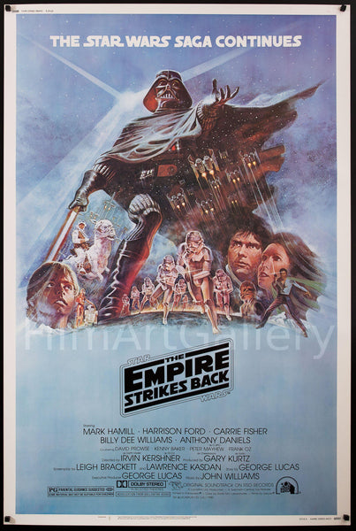 Fred Martin Ford >> The Empire Strikes Back Vintage Movie Poster | 40x60 Original Film Poster | 7416