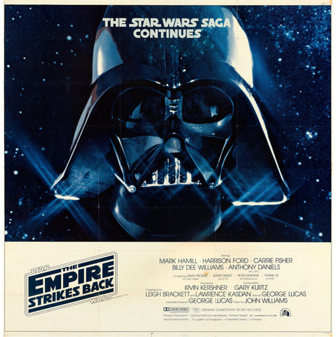 The Empire Strikes Back 6 Sheet (81x81) Original Vintage Movie Poster